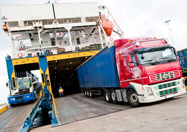 Trailers Shipping to Guinea-Bissau