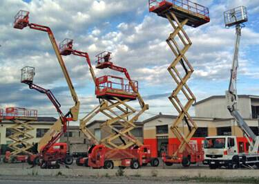 Aerial Platforms Shipping to Reunion