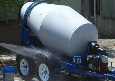 Concrete Mixer Shipping to Melilla