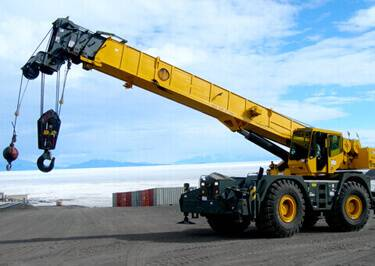 Cranes Shipping to Algeria