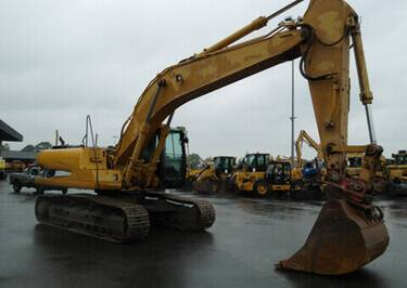 Excavators Shipping to Reunion
