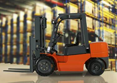 Forklifts Shipping to Melilla