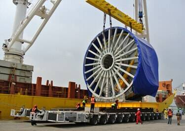 Industrial Machinery Shipping to Benin