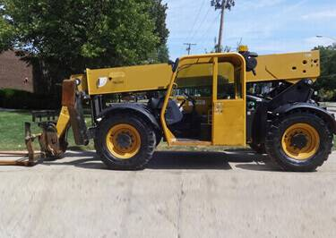 Telehandler Shipping to Reunion