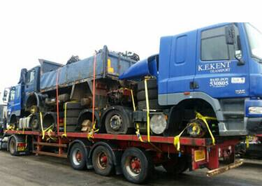Truck Shipping to Benin