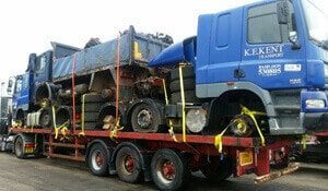 Truck Shipping to Africa